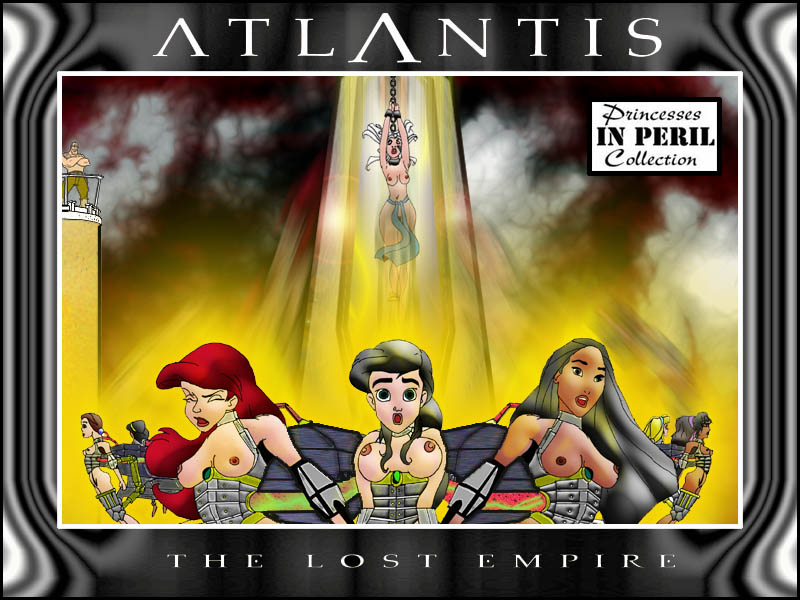 lost empire naked the atlantis Phineas and ferb breast expansion