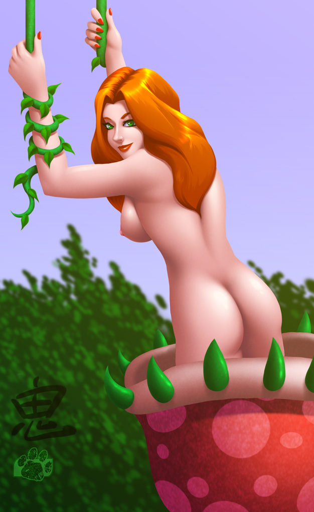 of pics poison sexy ivy Diarrhea of the mouth gif