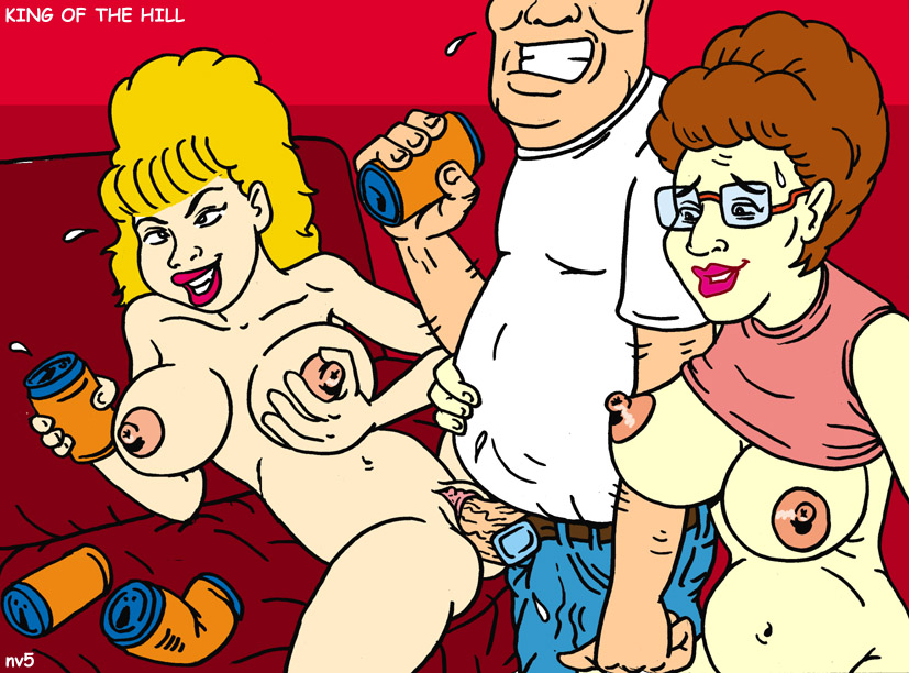 the king of hill nude Female possession by male ghost
