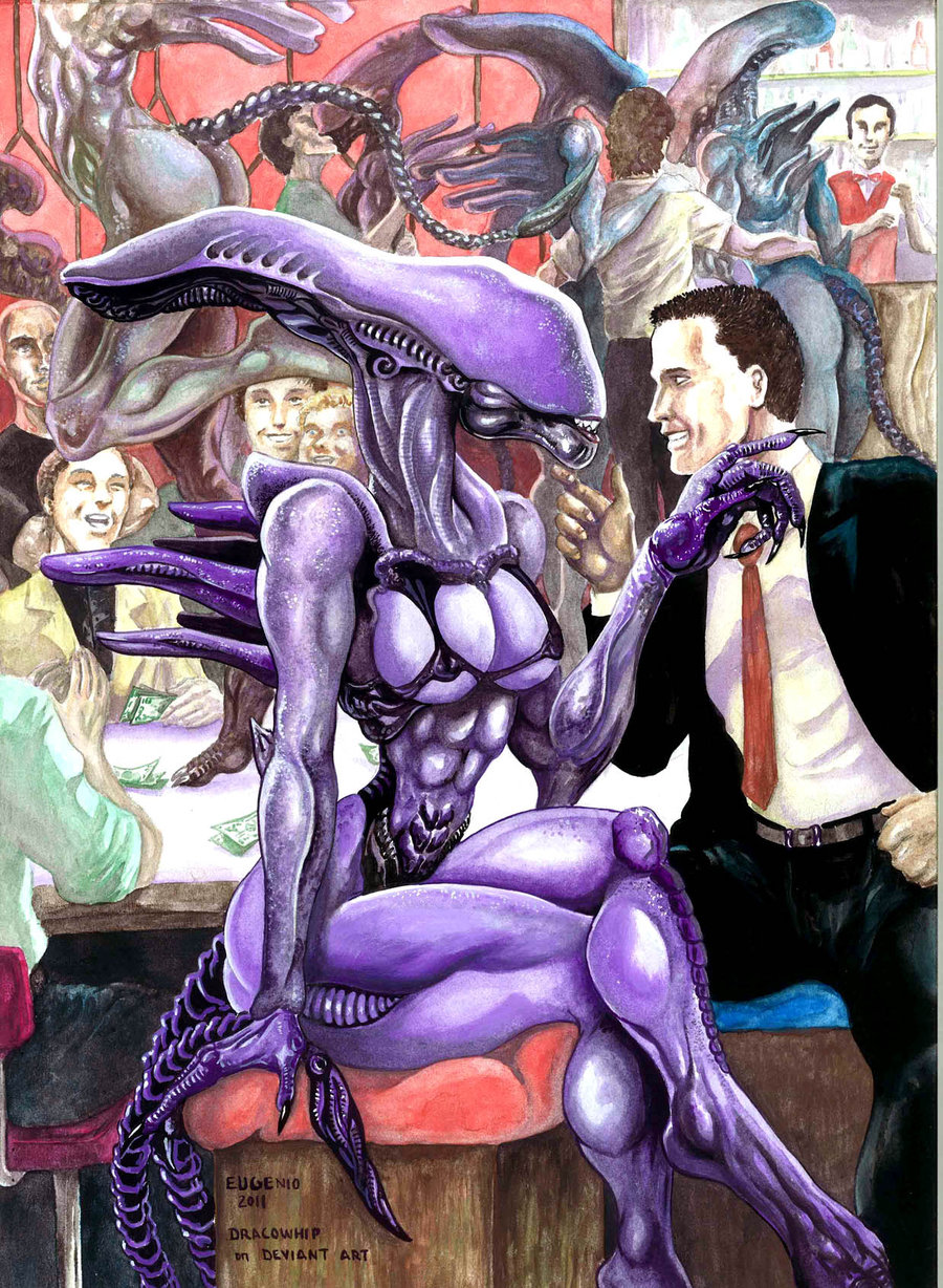 reader male fanfiction female xenomorph x Angel from lilo and stitch