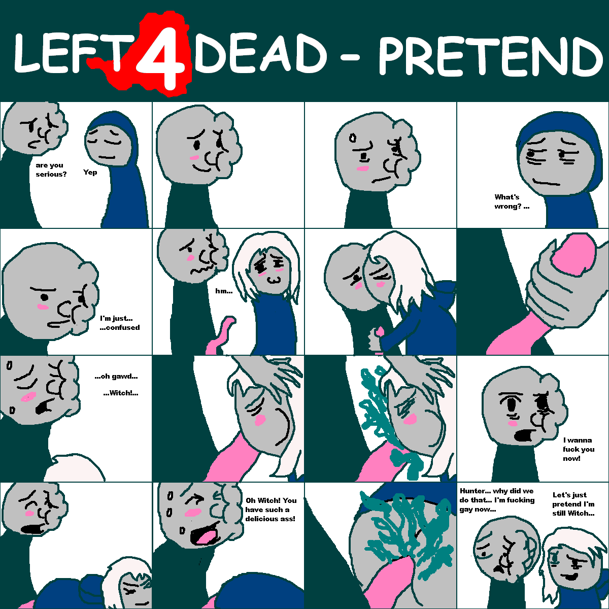 left dead 4 boomer 2 Violet and rosa breast pregnancy
