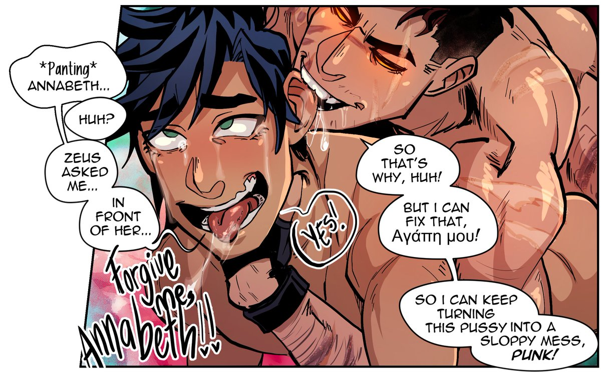 percy jackson from naked annabeth Is yuri on ice a yaoi
